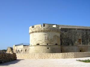 Castello di Acaja - Bastione sud-ovest