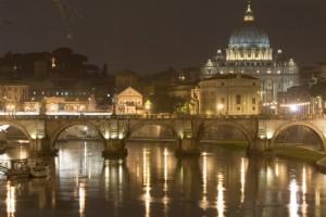 Roma Caput Mundi by Night