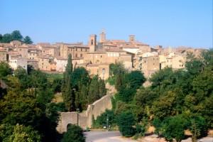 Panorama di Volterra