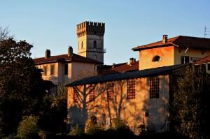Torre Gadola al tramonto