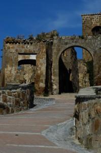 Porta del borgo di Celleno