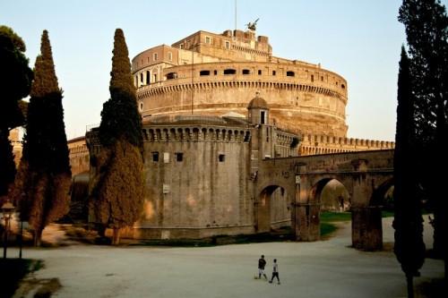 Roma - Giochi a Castel Sant'Angelo