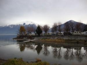 dove il fiume abbraccia il lago!