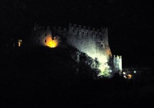 il castello dell'antico borgo Frapporta