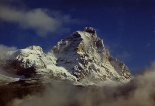 Valtournenche - Granito e nuvole