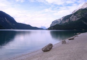 Pace sul lago di Molveno…