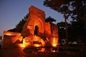 resti del castello a mokarta