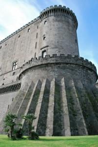 una torre del Maschio Angioino