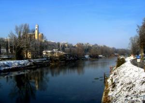 Lo scorrere tranquillo del fiume Mincio…