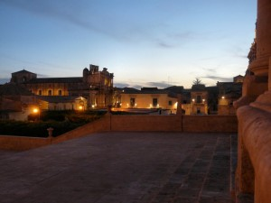 Noto all'imbrunire