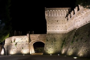"Castello di Montefiore "" Recanati "" Night"