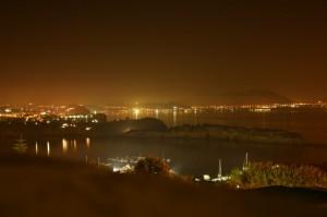 Capo Miseno by night