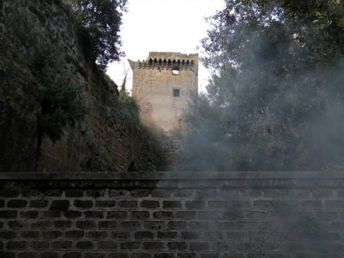Nepi - castello e fumo