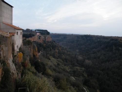 Castel Sant'Elia - the wall