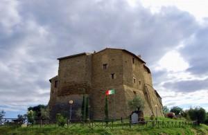 Collemancio, il castello