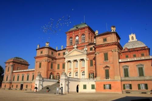 """Racconigi - il """"Volo"""" sul Castello Reale"""