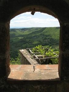 Alla finestra di Civita