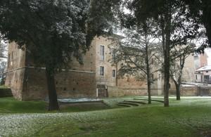 Rocca imbiancata