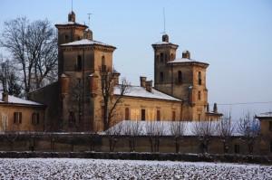 castello imbiancato
