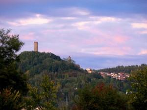 Castellino Tanaro al tramonto