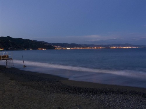 Arenzano - Genova vista da Arenzano