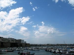 blu variegato al gusto di nuvole a Gallipoli
