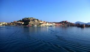panorama di Portoferraio fine della vacanza