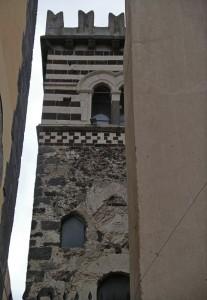La torre del 1154 a Santa Maria di Licodia