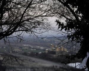 Il Castello di Torrechiara e i riflessi