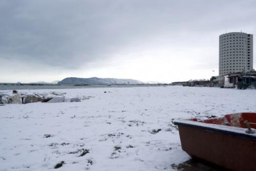 Massa - Neve sul mare