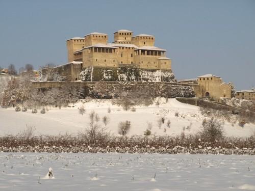 Langhirano - la neve a torrechiara