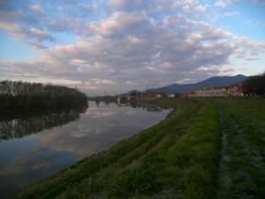 Calcinaia, in simbiosi con l'Arno