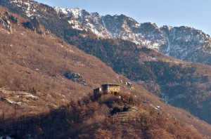 Arnad, panoramica castello