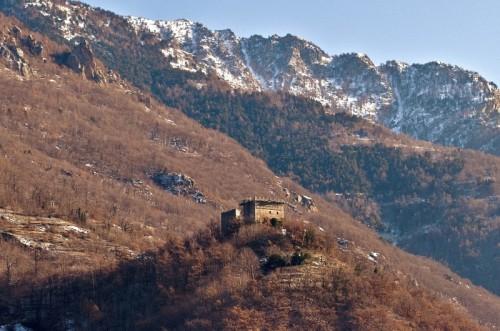 Arnad - Arnad, panoramica castello