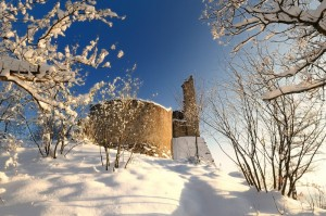 Neve sulle Carpinete