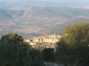 Gavorrano vista da Montecalvo