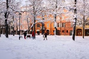 Che nevicata !