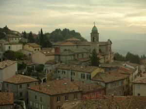 Verucchio - Vista dall'alto