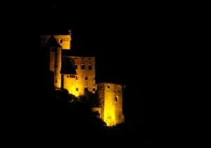 Castel Trostburg vista dall'Autostrada del Brennero