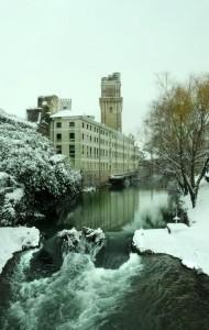 Specola sotto la neve