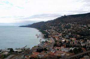 da 68 metri sopra Trieste