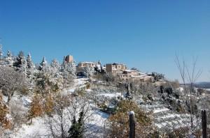 Neve a Collepino