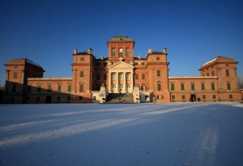 Racconigi - Castello Reale su manto di neve