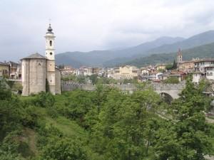 Dronero e il ponte del diavolo, anno 1428