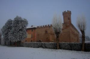 il Castello fra neve e nebbia