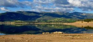 Oschiri: panorama boschivo lungo il Lago [2]
