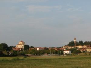 Panorama con la Torre dell' orologio