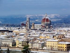 Da Firenze…auguri di buon Natale e che l'anno nuovo non deluda le vostre aspettative!!
