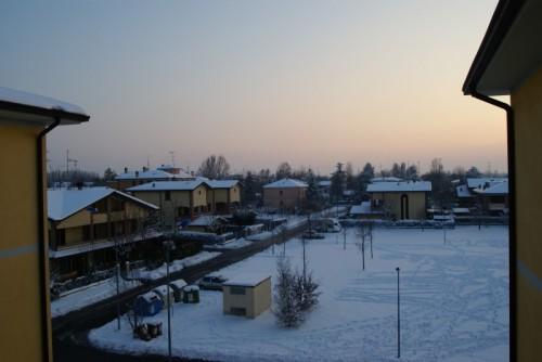 Correggio - 18/12/2009 prima nevicata