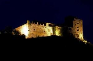 notturno al castello di Lusuolo